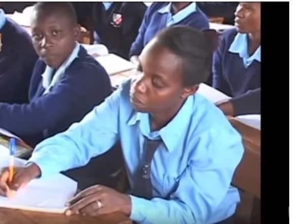 Mother of 4 joins form 1 after Uhuru announced free secondary education