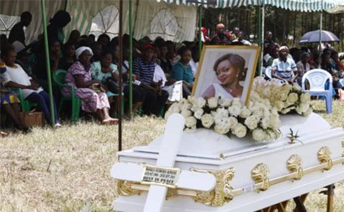 Monica Kimani's parents cry foul after mourners stole smart phones, handbags during burial
