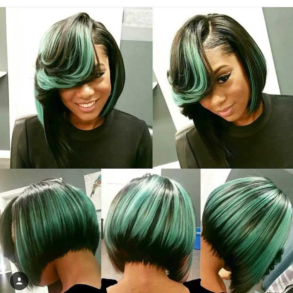Short African hairstyles weave 2018