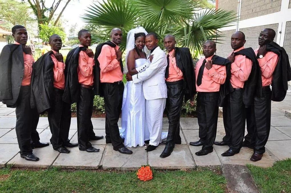 Gloria Muliro wedding