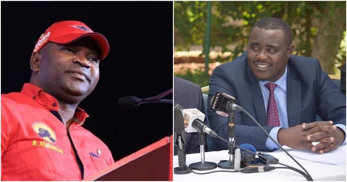 Mazungumzo ya simu kati ya seneta Malala na waziri Echesa wakizungu