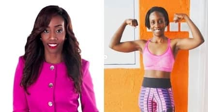Celebrated TV girl Yvonne Okwara gives fitness goals as she parades well toned body