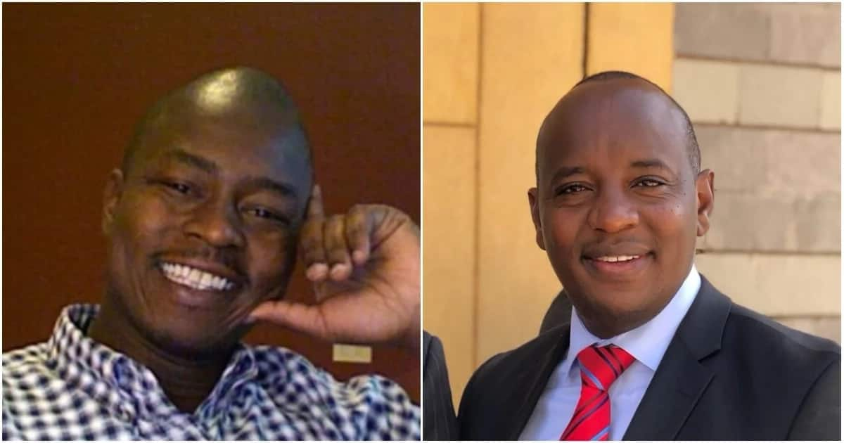 Linus Kaikai, former NTV's Managing Director who is also the chairman of the Kenya Editor's Guild, and Joe Ageyo, formerly KTN's Managing Editor.