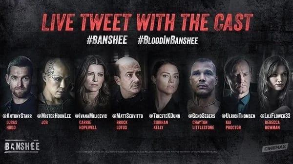 Banshee Cast