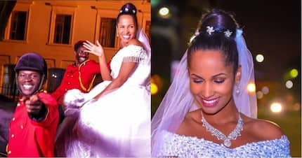 Eric Omondi's fans savagely attack him for not marrying Italian lover, Chantal