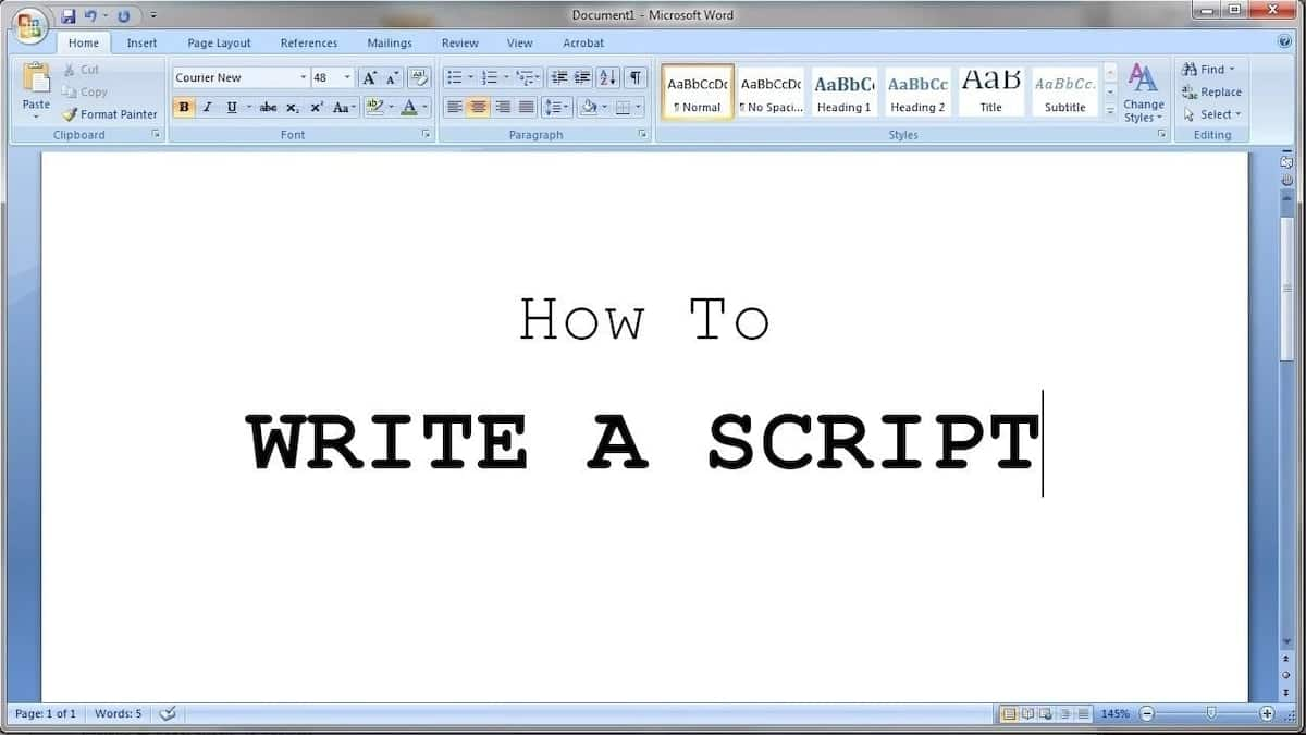 How to write a script for a movie  Script writing guide Writing a play script  How to write a script for a play