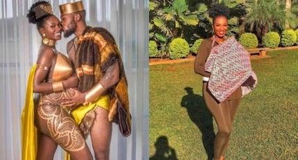 Picha ya kupendeza ya mwanao wachumba maarufu wa Wakanda