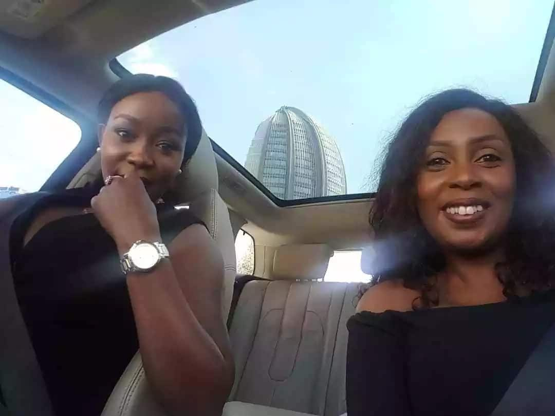 17 absolutely delightful photos of Terryanne Chebet and her former colleague Monicah Kiragu which spell bff goals