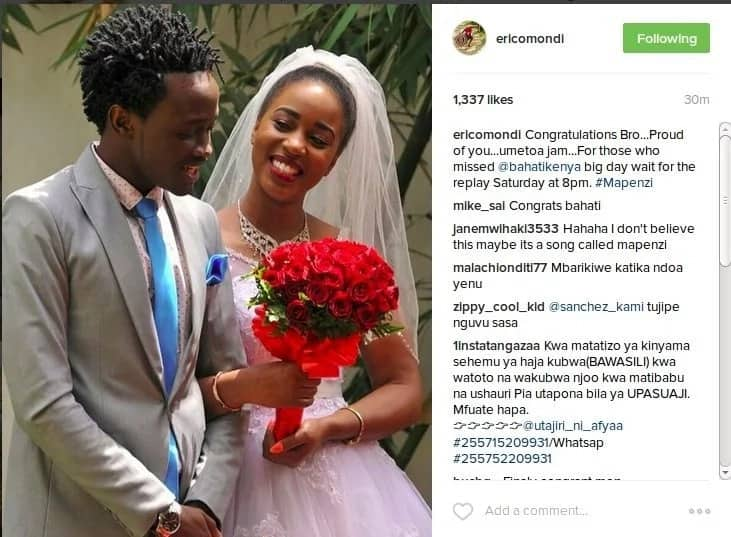 bahati's wife has finally given birth to baby girl