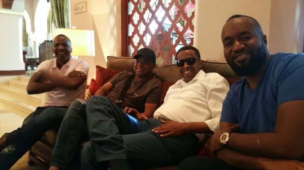 Joho and Kingi miss anti-IEBC protests, spotted with 'Uhuru's lawyer' outside the country