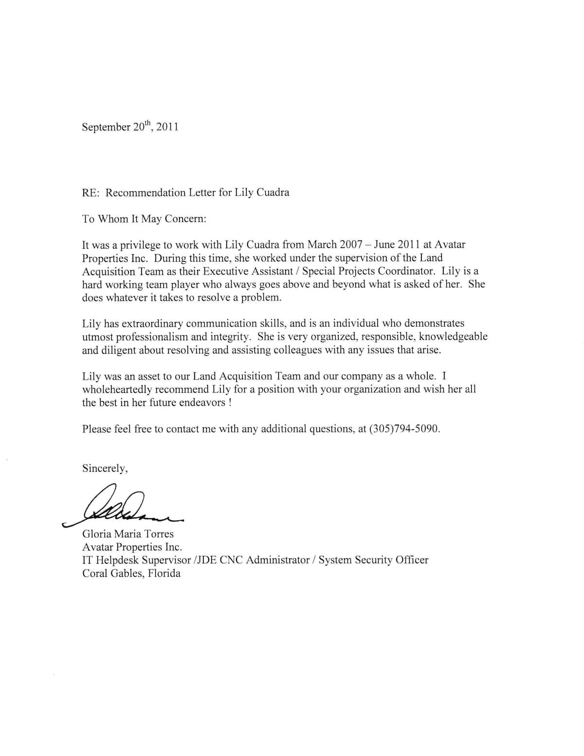 How to write a recommendation letter - format and best