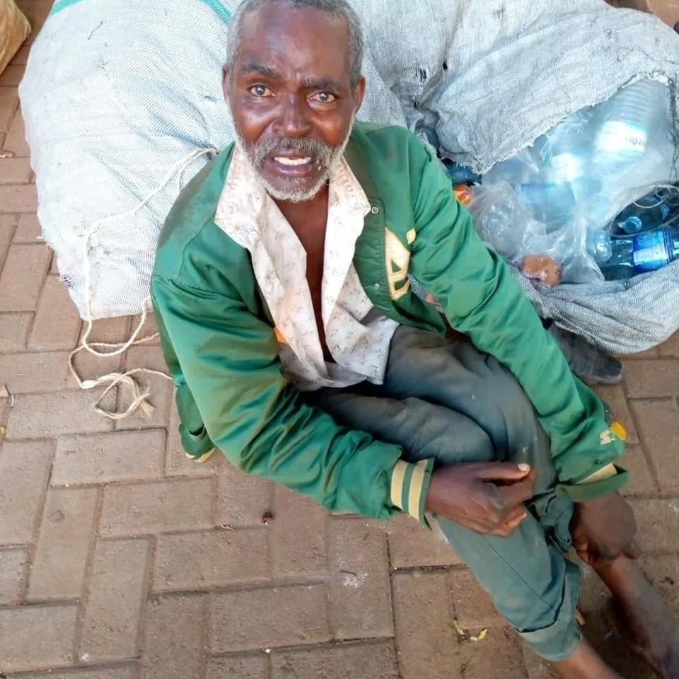 Ikiwa unamjua mwanamume huyu Mkenya anayeombaomba Kampala, Uganda, waambie jamaa zake