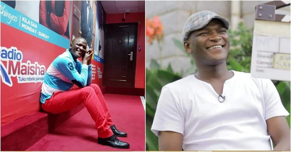 Comedian Captain Otoyo did not reveal the cause of his dad's death.