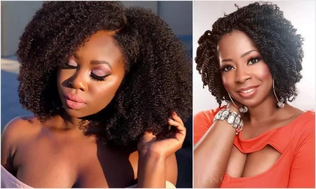 Trendy afro kinky hair styles in Kenya