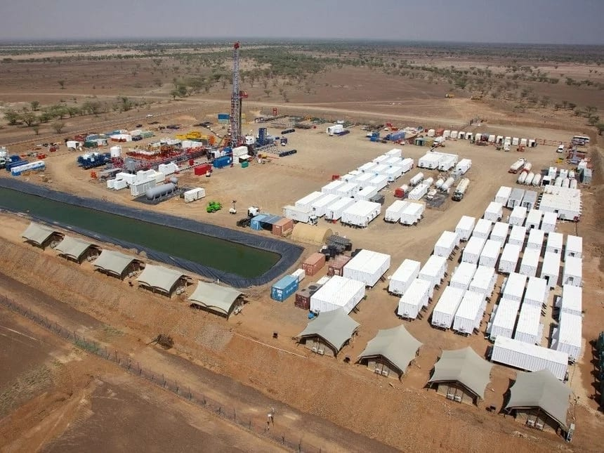 Turkana landmark- Tullow oil site