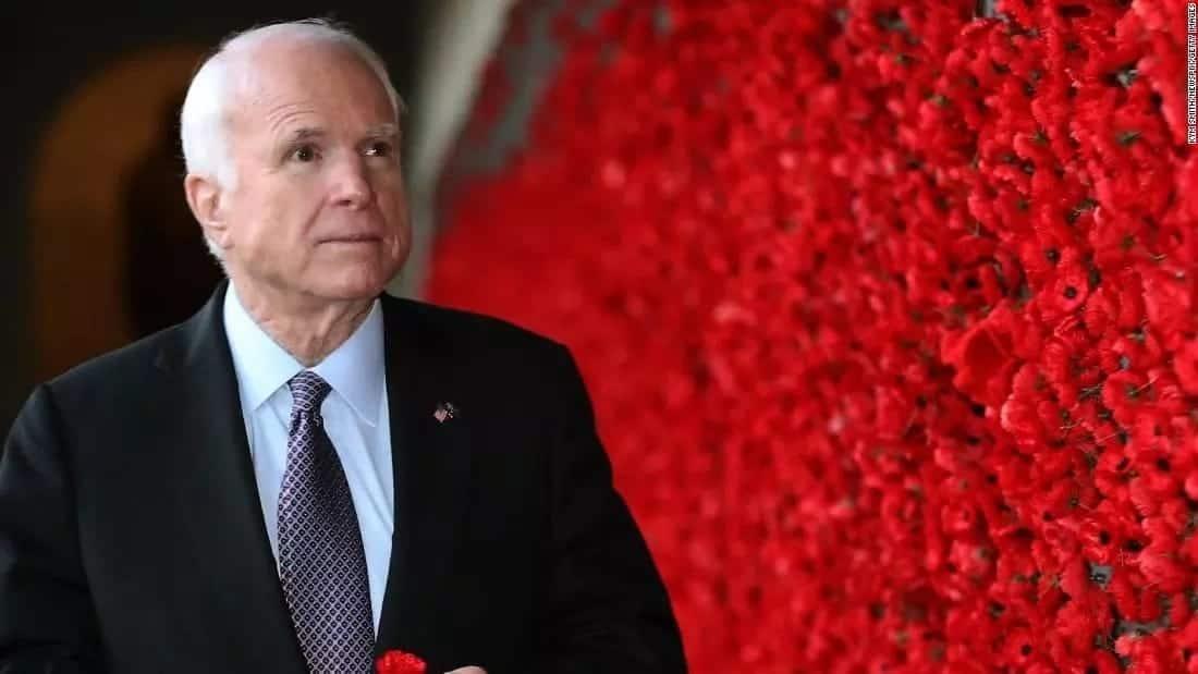 Aliyekuwa mgombeaji wa urais Marekani John McCain aacha matibabu ya kansa ya ubongo