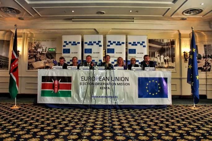Its shear luck that Kenyans dis not fight during the election period - EU report