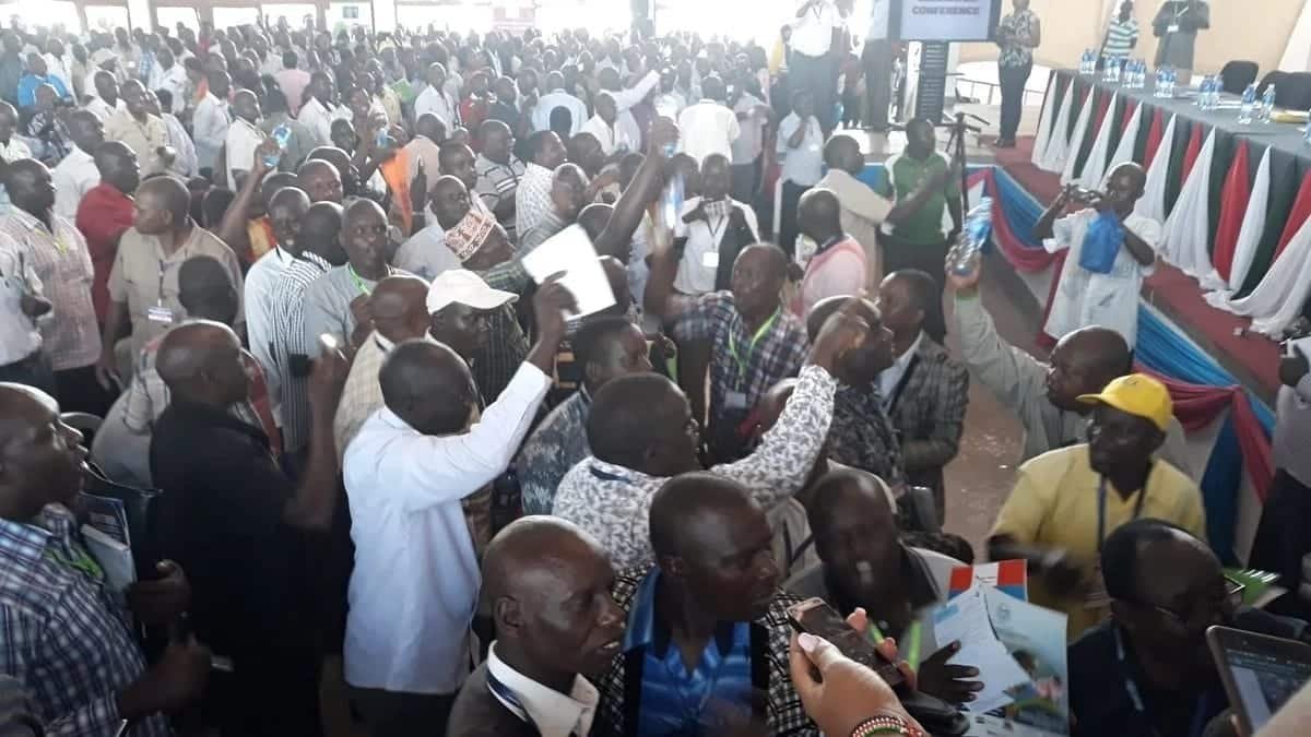 Headteachers come to near fist fight as chaos rocks Mombasa meeting over KSh 500 union fee
