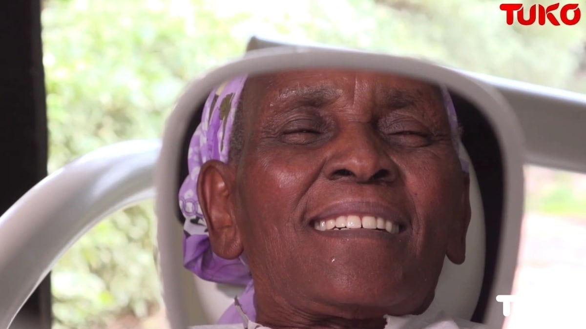 Toothless Nairobi grandma who wowed Kenyans by fixing car stereos gets set of teeth