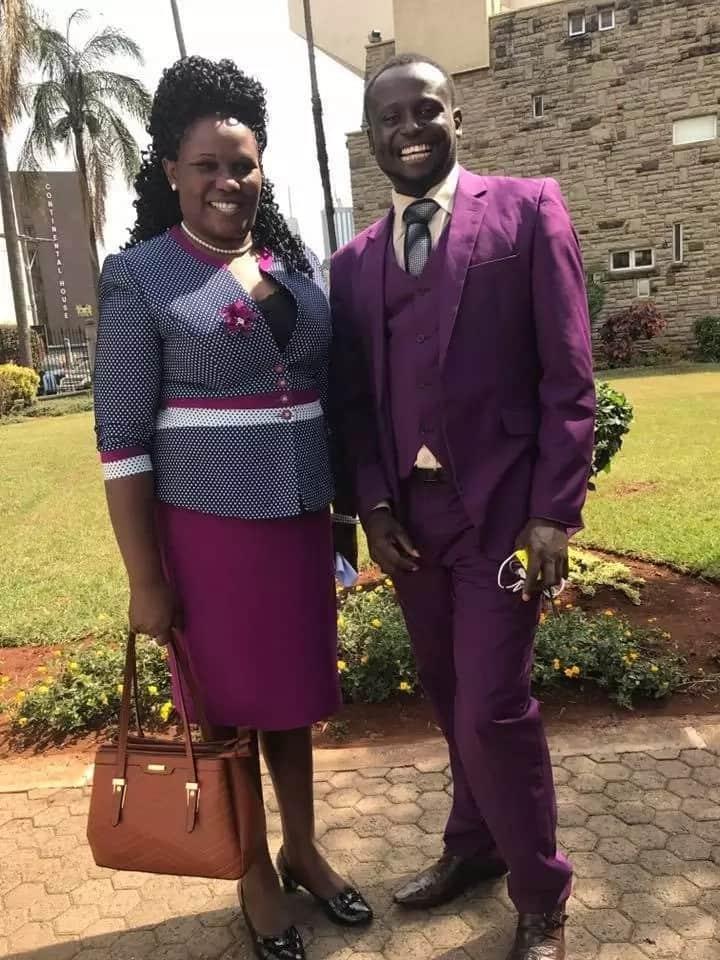 Mbunge aliyechaguliwa kwa mara ya kwanza aandamana na mumewe hadi bungeni, na wengi wamshangaa
