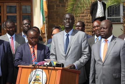 Restore Governor Lonyangapuo's bodyguards immediately - Council of Governors to IG Boinnet