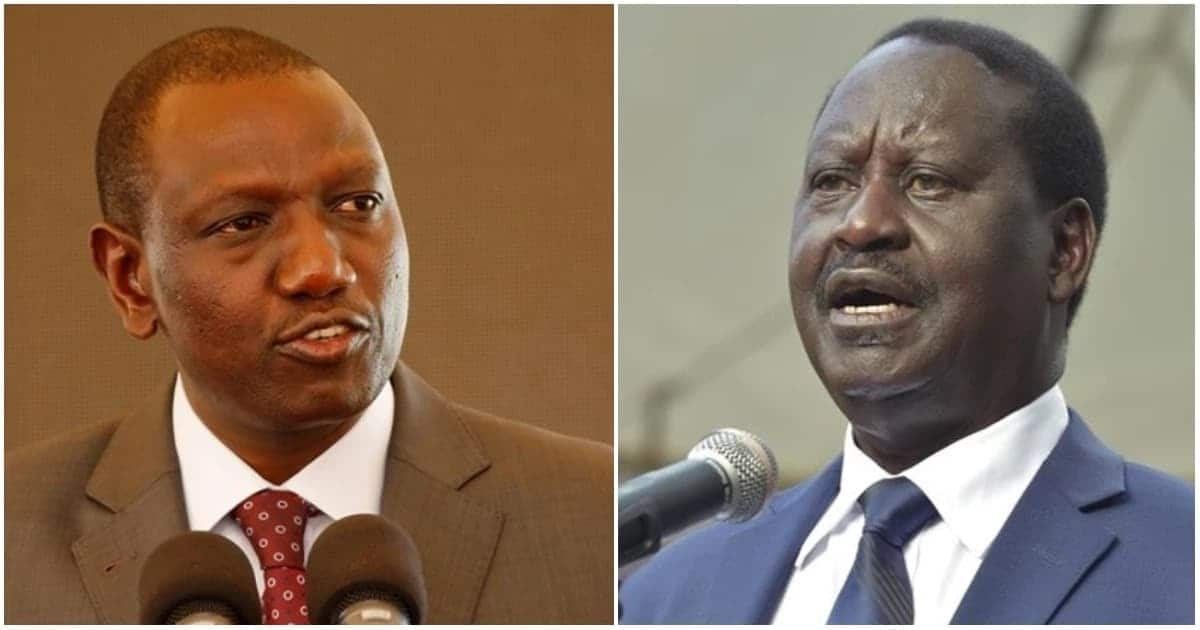 Stop using handshake to bring confusion in Jubilee - Ruto warns Raila