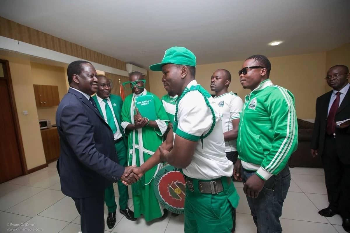Raila Odinga supporters ask him to finance Gor Mahia even just once