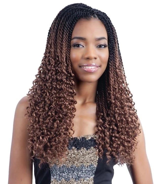 Curly braids