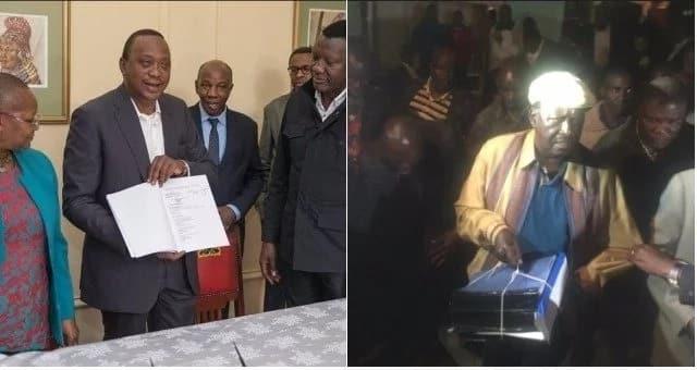 Rais Uhuru Kenyatta hatimaye awasilisha stakabadhi zake mahakamani