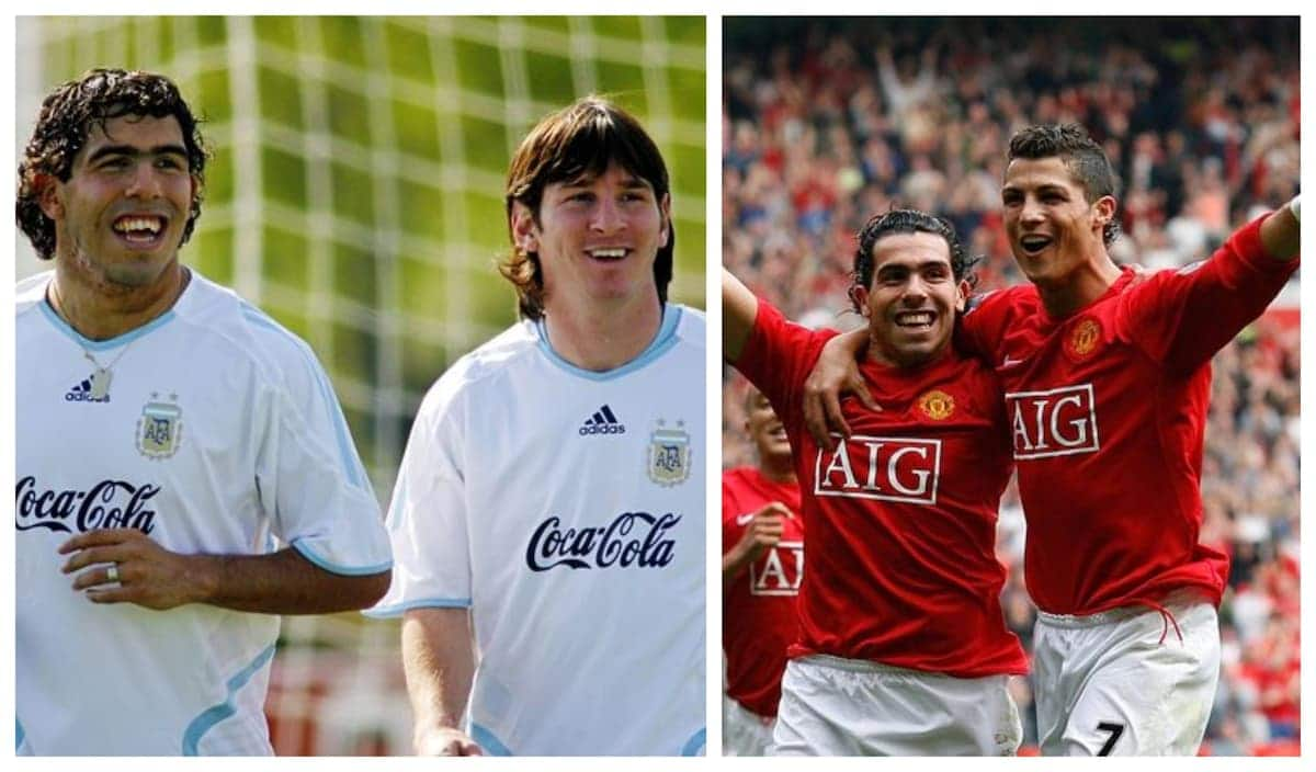 Former Manchester United striker Carlos Tevez reveals the major difference between Ronaldo and Messi