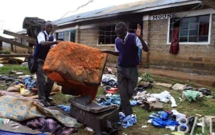 Students on holiday tuition escape unhurt as fire razes down three dormitories in Nyamira