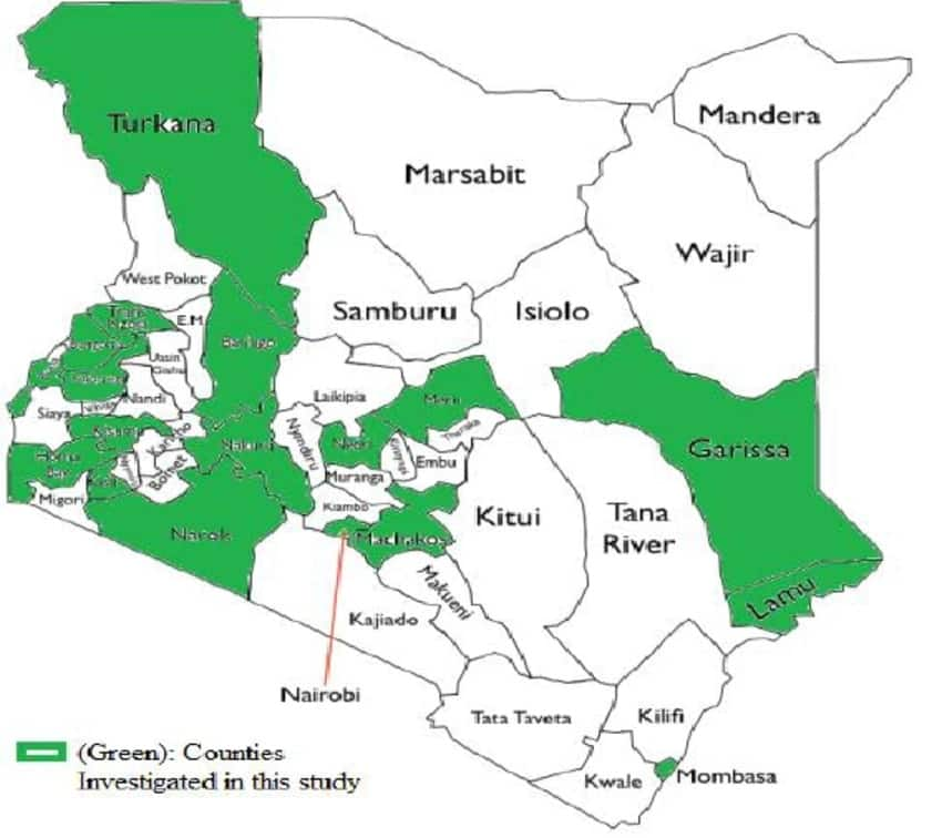 Largest county in Kenya in population, productivity & wealth