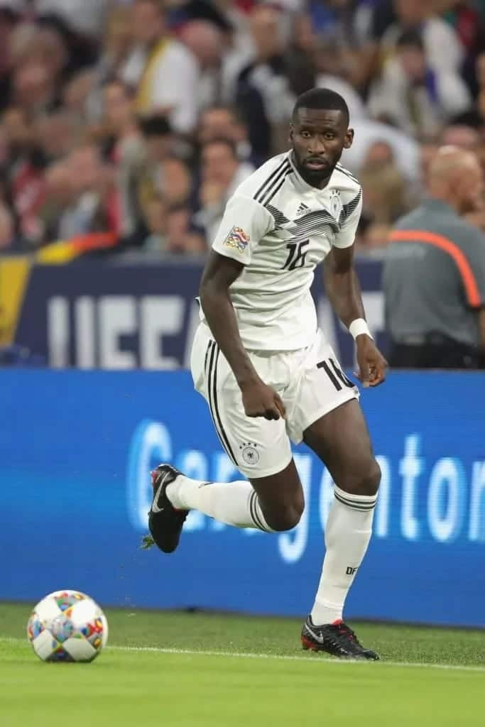 Rudiger apologizes to Pavard, insists his stamping is not deliberate