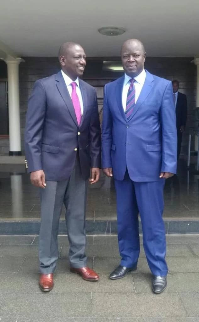 Ruto hosts NASA governor at his Karen home a day after swearing-in