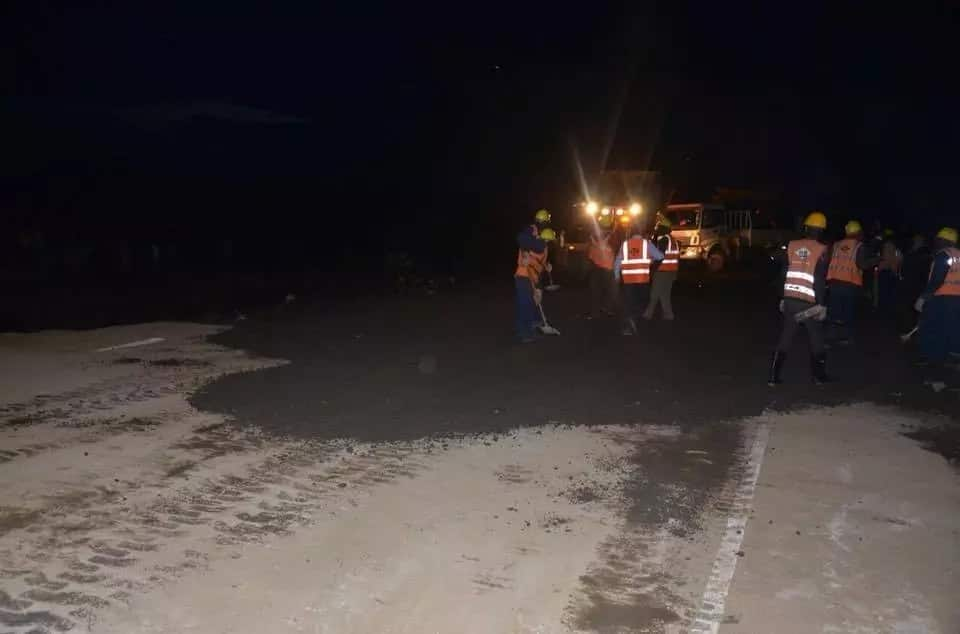Govt restores section of Nairobi-Narok road destroyed at Mai Mahiu in record time