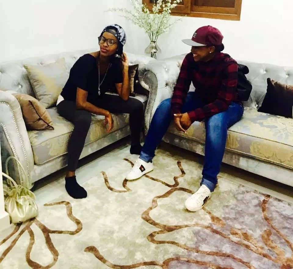 Betty Kyalo and Joho wearing similar shoes sparks wild reaction