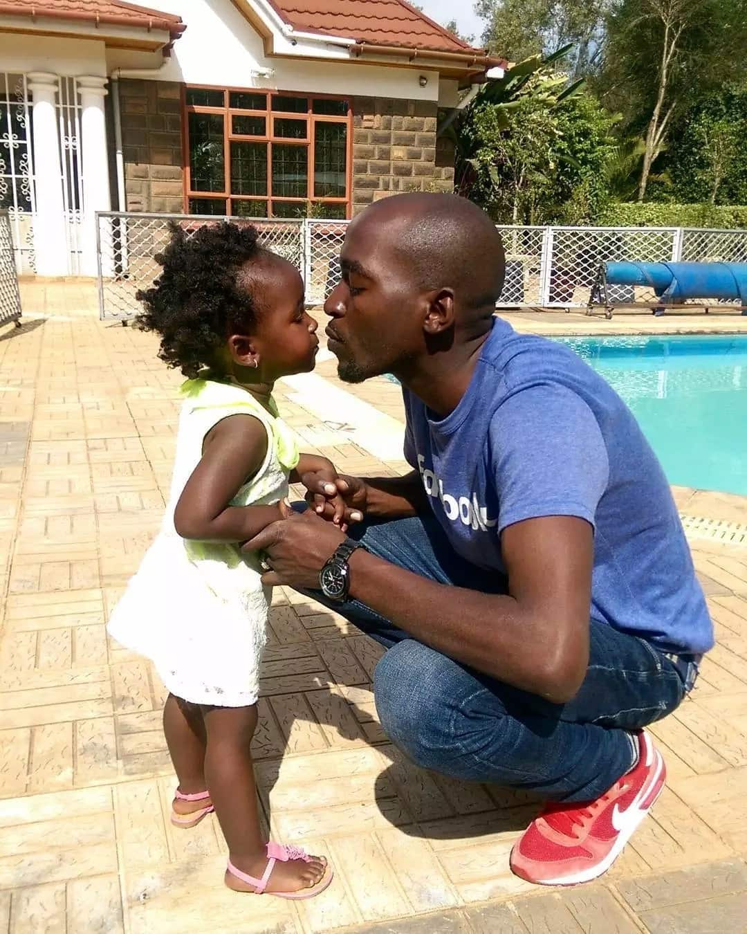 16 simply delightful photos of Citizen TV Patrick Igunza's wife and kids