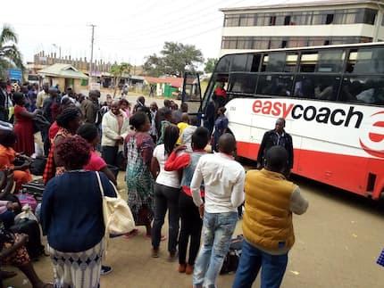 Travelers in Bungoma exchange blows over a seat as NTSA night ban intensifies