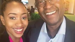 Hata kama ana miaka 70, baba yake Janet Mbungua ni mtu na nguvu zake, tazama picha