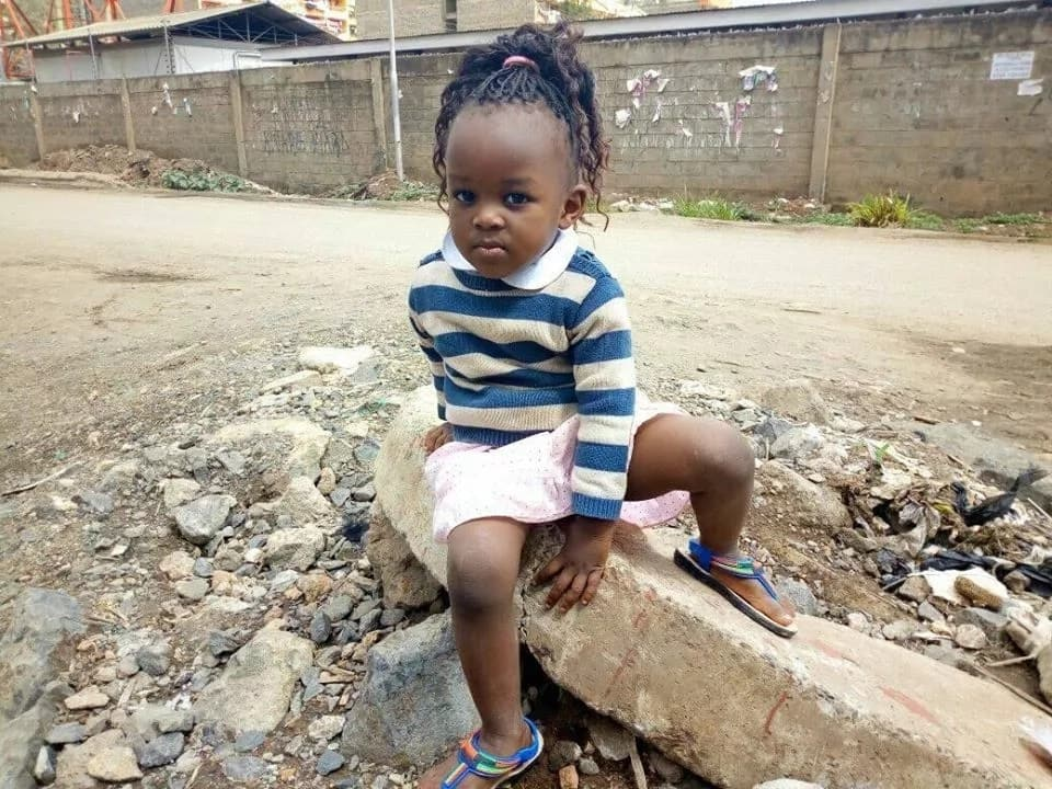 Our baby went missing during the NASA's confrontation with police officers- mother appeals for help