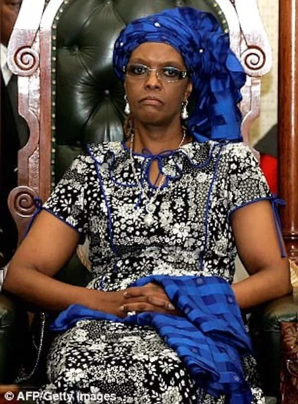 Grace Mugabe is seeking diplomatic immunity after being accused of assaulting Gabriella Engels. Photo: Getty Images