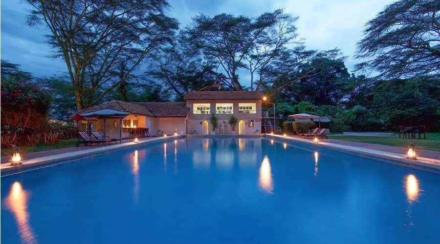 hotels in Naivasha with swimming pool