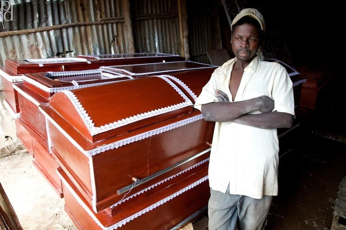 Coffin makers starring at bleak future following government ban on tree harvesting