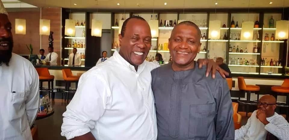 Citizen TV's Jeff Koinange meets Africa's richest man, Aliko Dangote and TUKO.co.ke has all the photos