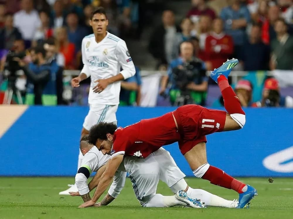 Mohamed Salah speaks on Champions League tackle from Sergio Ramos