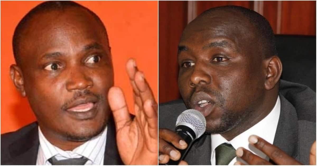 Mbadi, Murkomen lecture each other on alleged involvement of Raila in fresh Mau chaos