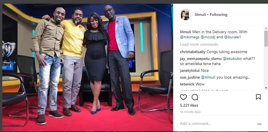 Citizen TV's Lillian Muli stuns fans with her cute, growing baby bump