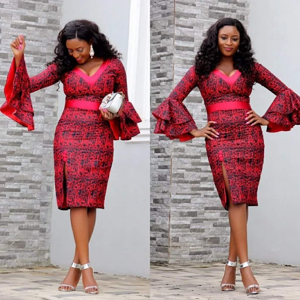 Ankara dress styles for ladies in Nigeria
