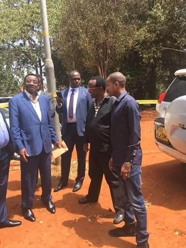 We don't need you here - police turn away Orengo,Aladwa and Wanjigi from DCI headquarters