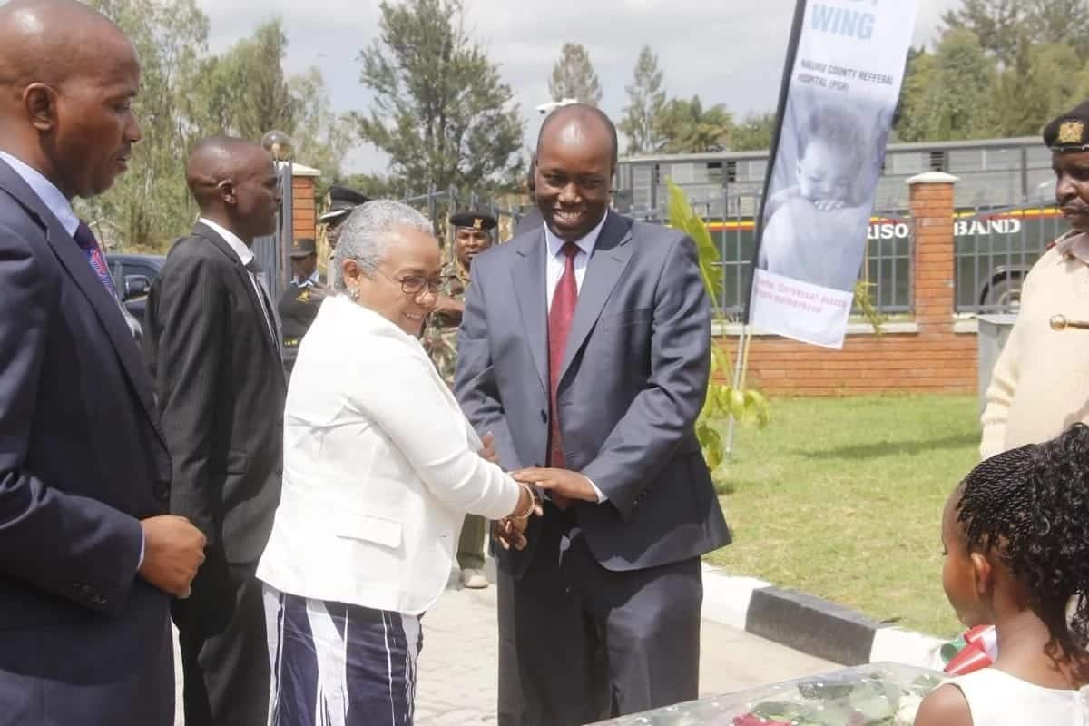 Nakuru county names 250-bed maternity wing after First Lady Margaret Kenyatta